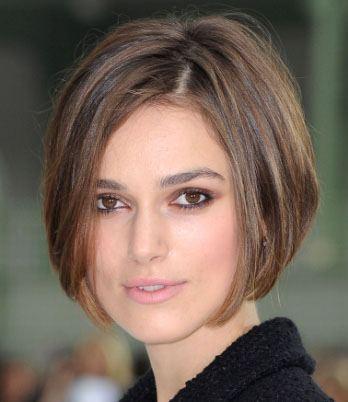 Короткие волосы на каре в 30