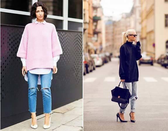 мода для женщин после 30 лет - оверсайз