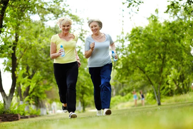 Бег в возрасте 50 — 55 лет: польза или вред