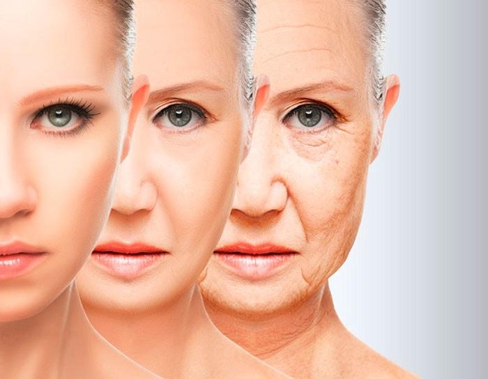 Изменение кожи с годами