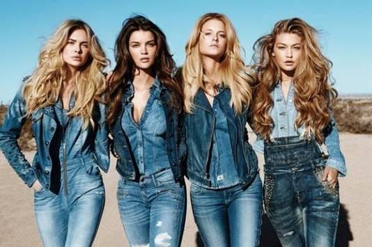 джинсовый стиль в 30