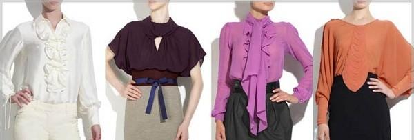 Блузки для женщин после 50 лет