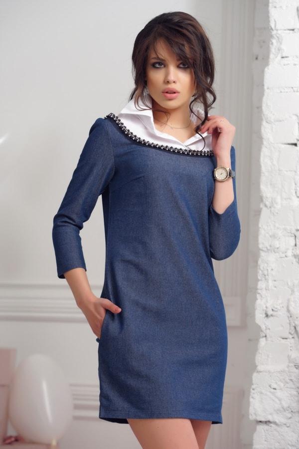 Модное платье для девушек от 30 лет