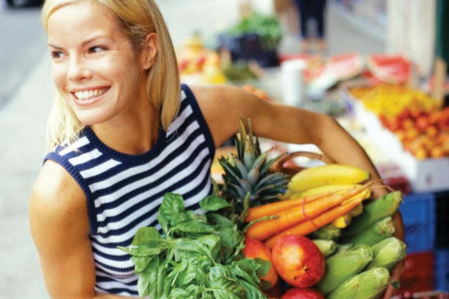 Правильное питание для женщины 35 лет