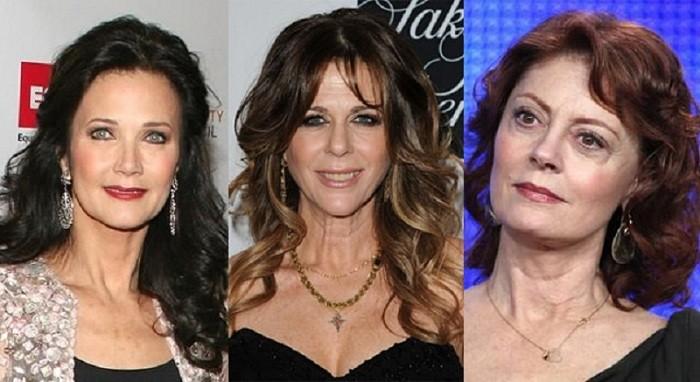 Прически для длинных волос женщинам в возрасте 50 — 55 лет