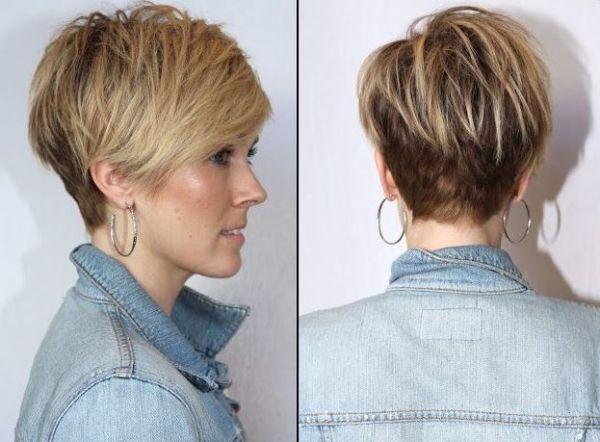 Укладка на волос средней длины
