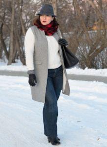 С чем носить джинсы зимой