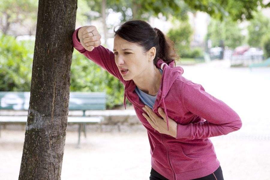 Симптом стенокардия