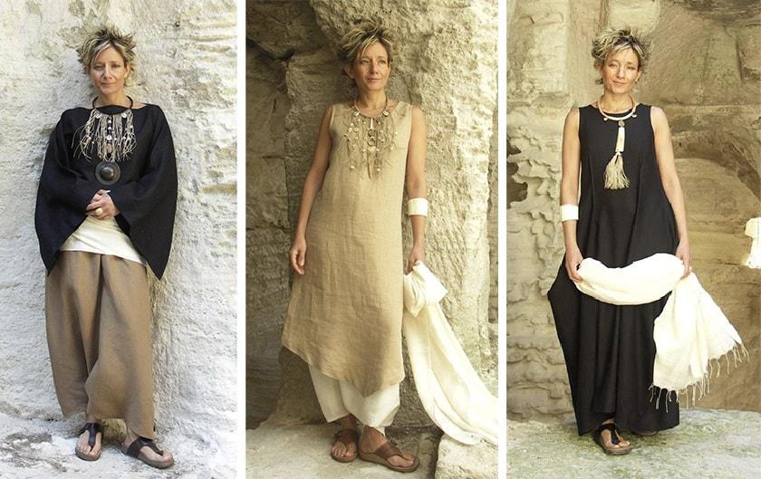 Бохо стиль для женщин 50 — 55 лет