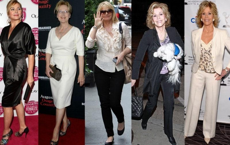 Стиль одежды для женщин в возрасте 50 — 55 лет