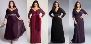 Платье для полных женщин 50 лет
