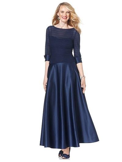 Вечернее платье для женщин 50 лет