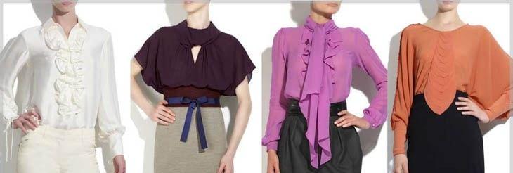 Базовые блузки
