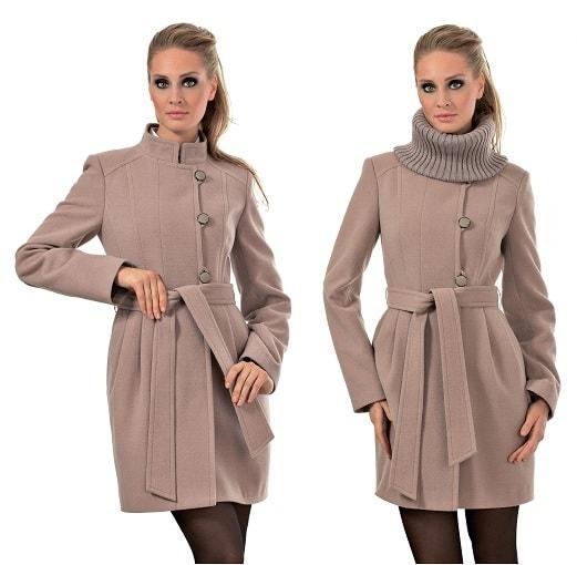 Фасон демисезонного пальто