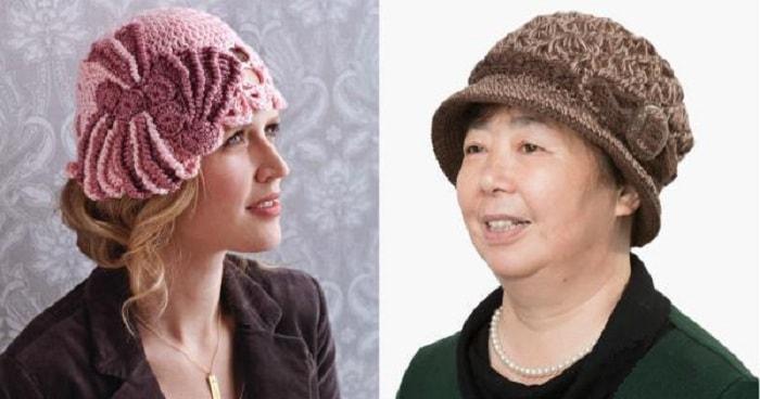 Как подобрать вязаную шапку женщине возраста 50 — 55 лет
