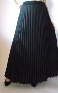 Креп-шифоновая юбка для женщин 50 лет