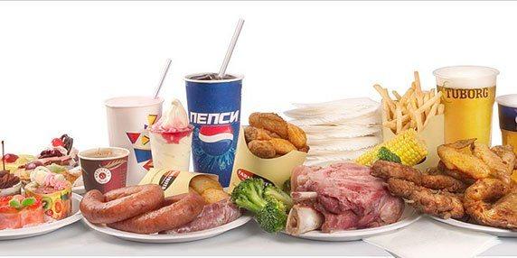Запретные продукты питания