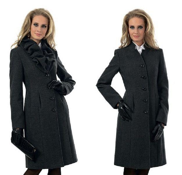 Осеннее пальто для женщин 50 — 55 лет