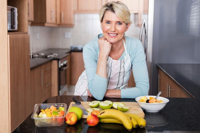 Правильное питание для женщины в возрасте 50 — 55 лет