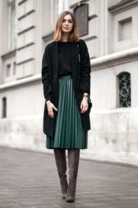 С чем носится юбка