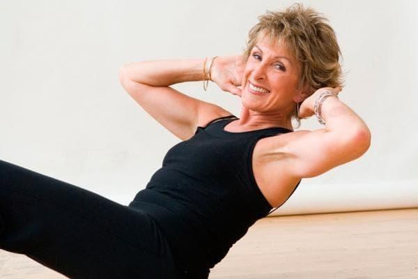 Упражнение для женщин возраста 50 — 55 лет