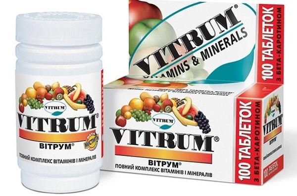 Витамины витрум для женщин в возрасте 50 — 55 лет