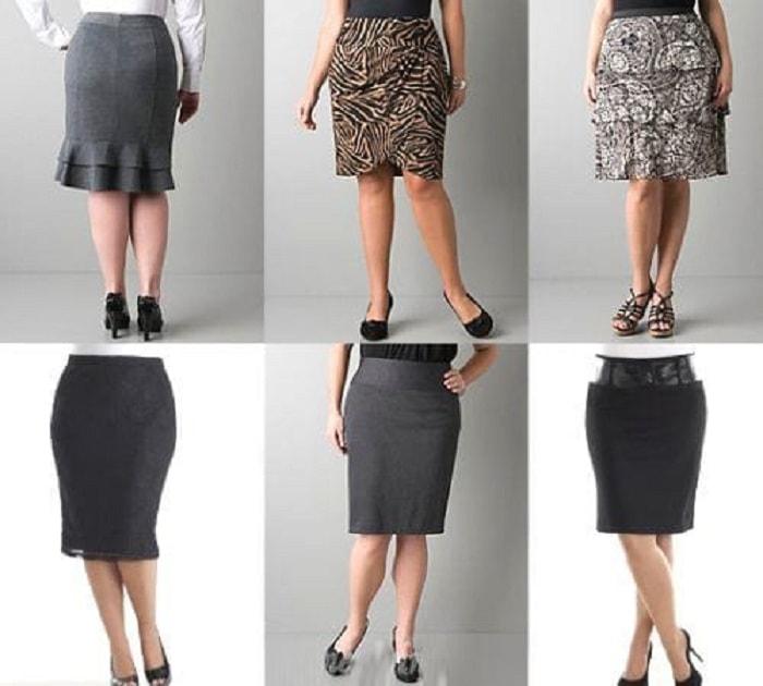 Юбки для женщин в возрасте 50 — 55 лет